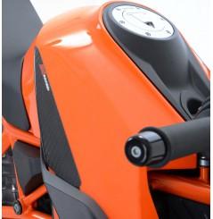 Sliders de réservoir Carbone R&G pour KTM 1290 SuperDuke R (14-15)