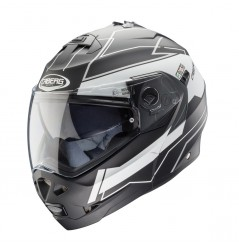 Casque Moto Modulable CABERG DUKE GRAVITY Noir - Blanc