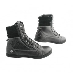 Bottines Moto 1964 SHOES CAFE RACER RUGGED Noir