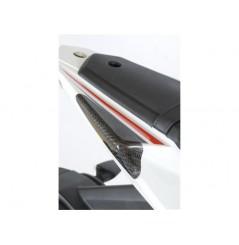 Sliders de coque arrière Carbone R&G pour Yamaha YZF-R125 (08-15)