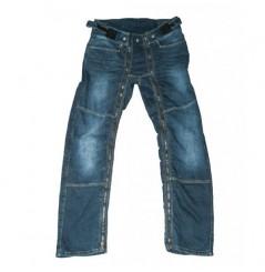"Surpantalon Jeans 1964 SHOES EASY 5"" Bleu"
