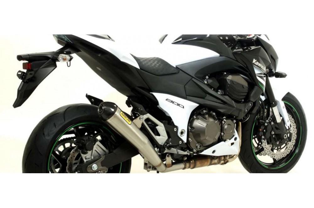 silencieux arrow pro racing pour z800 13 16 moto