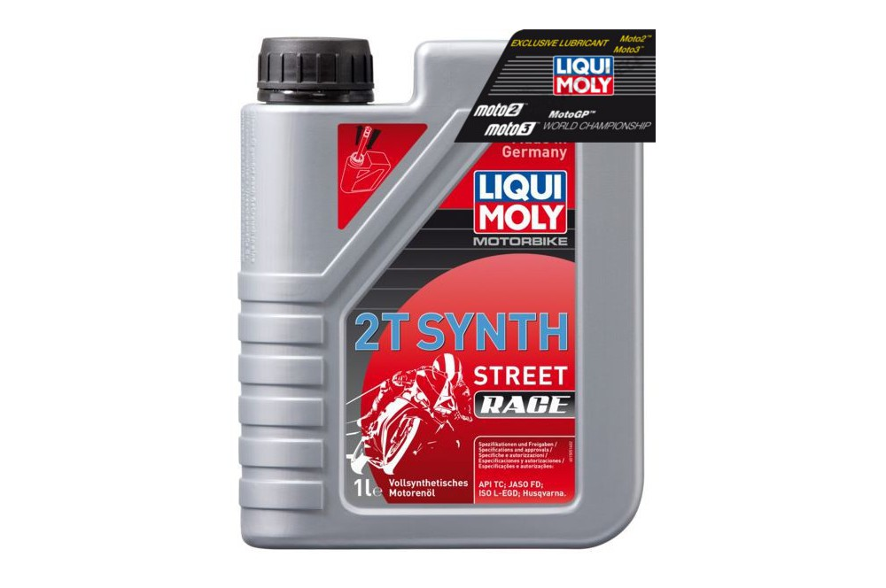 huile moto liqui moly 2 temps motorbike 100 synth se 1 litre street moto piece. Black Bedroom Furniture Sets. Home Design Ideas