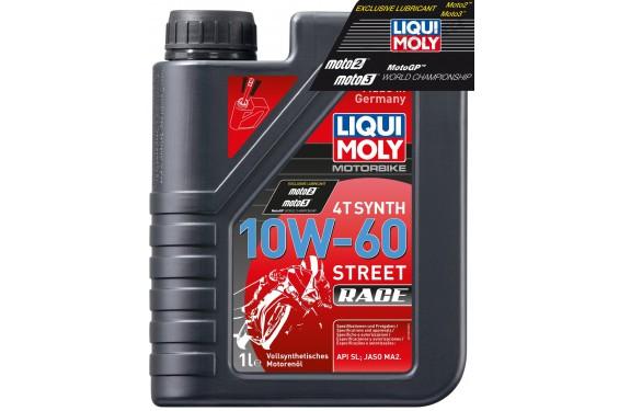 Huile Moto LIQUI MOLY 10W60 100% Synthèse Motorbike Race 1 Litre