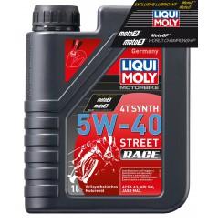 Huile Moto LIQUI MOLY 5W40 100% Synthèse Motorbike Race 1 Litre PROMO -50%