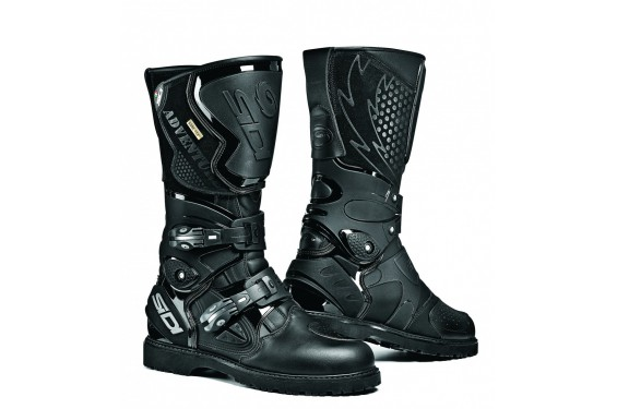 bottes moto touring sidi adventure gore tex noir street moto piece. Black Bedroom Furniture Sets. Home Design Ideas