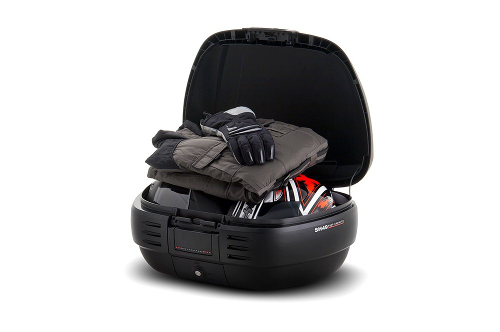 top case sh49 noir mat street moto piece street moto piece. Black Bedroom Furniture Sets. Home Design Ideas