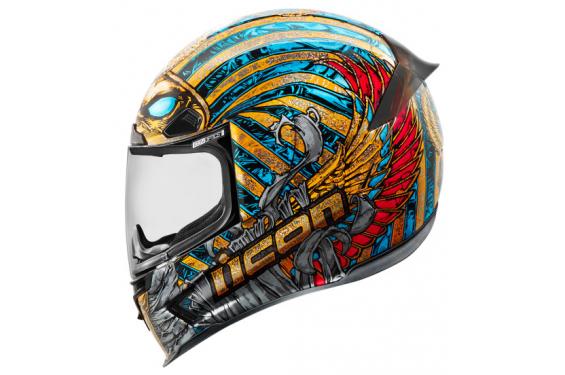 Casque Moto Icon Airframe Pro Pharaoh Street Moto Piece