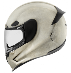 Casque Moto ICON AirFrame Pro Construct Blanc