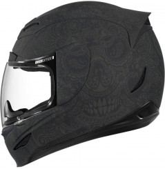 Casque Moto ICON Airmada Chantilly Noir Mat
