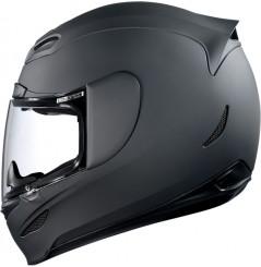 Casque Moto ICON Airmada Rubatone noir mat