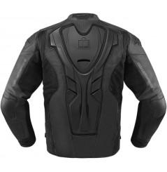 Blouson cuir Homme ICON Hypersport Prime Noir