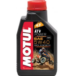 Huile Motul ATV Power 5w40, 100% Synthése 1 litre
