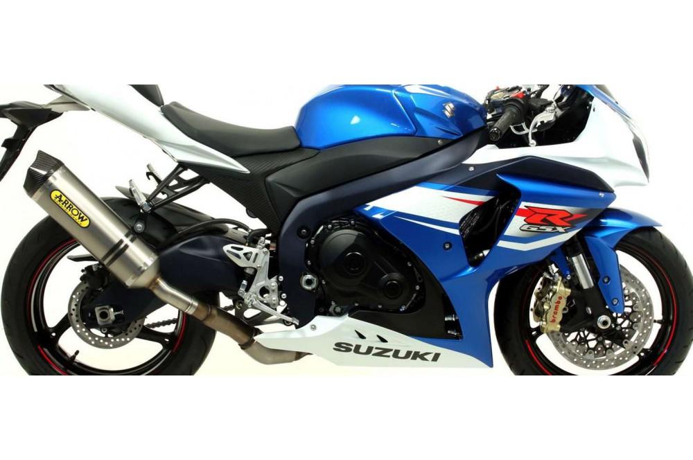 silencieux arrow race tech pour suzuki gsxr1000 12 16 street moto piece. Black Bedroom Furniture Sets. Home Design Ideas