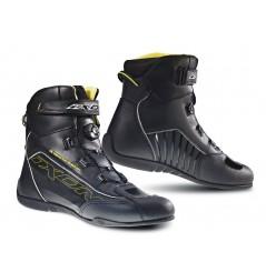 Chaussure Racing Moto Ixon Reactor Noir - Jaune