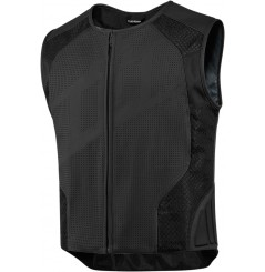 Gilet sans manches cuir Homme ICON Hypersport Stripped