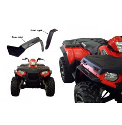 Kit Extension D'Ailes D2 Pour Quad Polaris Sportsman 500 (10-14) Sportsman 800 (10-14)