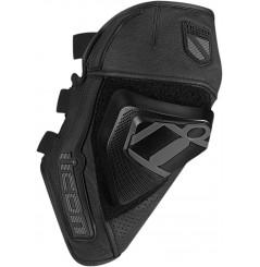 Slider amovible moto ICON Cloverleaf Noir