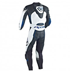 Combinaison Racing IXON STARBUST Noir / Blanc / Bleu