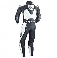 Combinaison Moto Racing IXON STARBUST Noir / Blanc / Argent