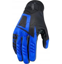 Gants Moto Été ICON Wireform bleu