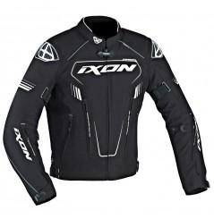 Blouson Racing Ixon ZEPHYR HP Noir - Blanc