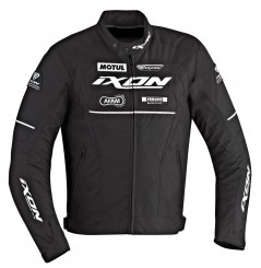 Blouson Racing Ixon MATRIX Noir - Blanc