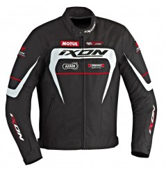 Blouson Racing Ixon MATRIX Noir - Blanc - Rouge
