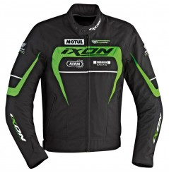 Blouson Racing Ixon MATRIX Noir - Blanc - Vert