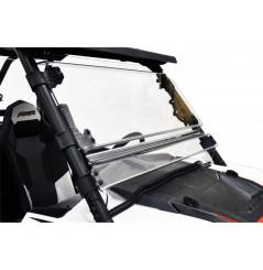 Pare - Brise Complet Pivotant D2 Pour SSV Polaris RZR 900 (15-17) RZR 1000 (14-17) RZR 1000 Turbo (16-17)