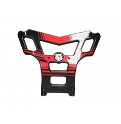 Bumper Baxper Rouge Pour Honda TRX 450 (04-15)