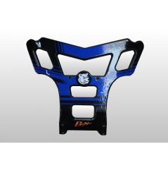 Bumper Baxper Bleu Pour Yamaha YFZ 450 (04-14)