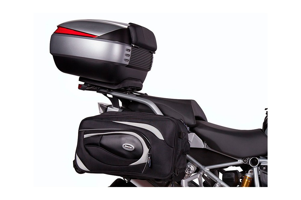support top case shad pour bmw r1200gs 13 16 street moto piece. Black Bedroom Furniture Sets. Home Design Ideas