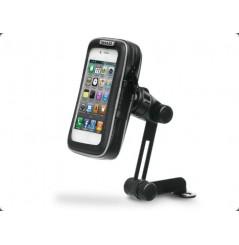 """Support Smartphone Moto Étanche Shad Fixation au Rétroviseur, dimension écran 4.3"""" 6,5x12,5cm"""