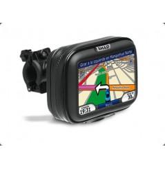 """Sacoche Moto Étanche Shad pour GPS 4.3"""" 14x9cm fixation au guidon"""