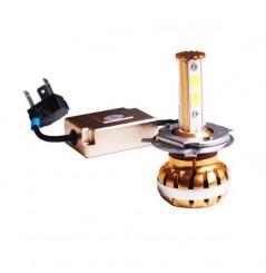 Ampoule LED H7 GOLD 360° Moto