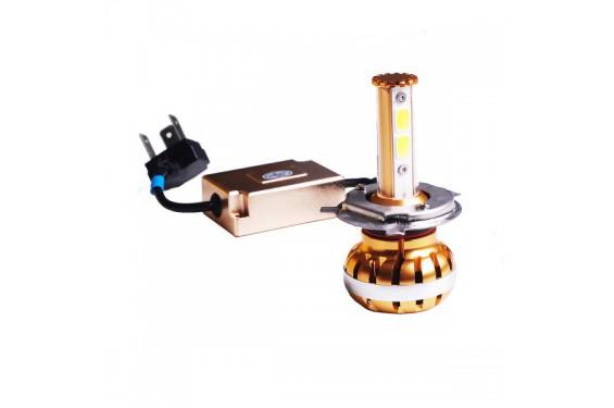 Ampoule LED GOLD 360° Moto H4