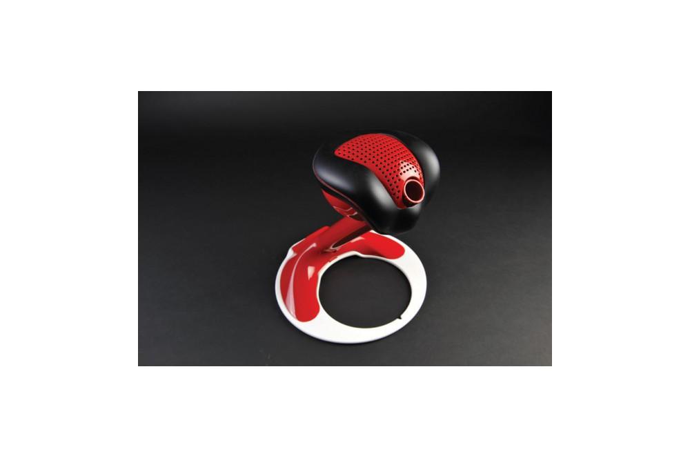 porte casque s chant tecno globe zef 100 rouge street moto piece. Black Bedroom Furniture Sets. Home Design Ideas