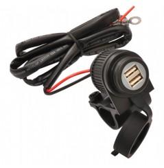 Chargeur USB Full Tecno Globe Pour Moto / Quad / Sccoter