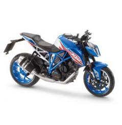 Maquette Moto 1/12 ème KTM 1290 SUPERDUKE PATRIOT Bleu
