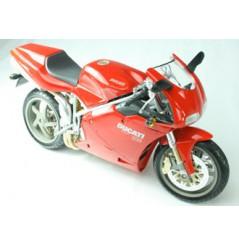 Maquette Moto 1/6 ème DUCATI 998 R Jaune