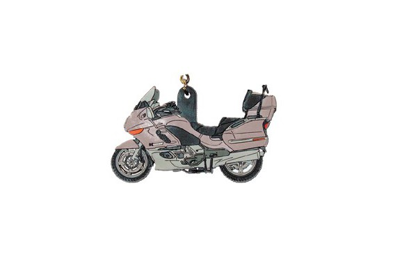 porte clefs 2d bmw k 1200 lt gris street moto piece. Black Bedroom Furniture Sets. Home Design Ideas