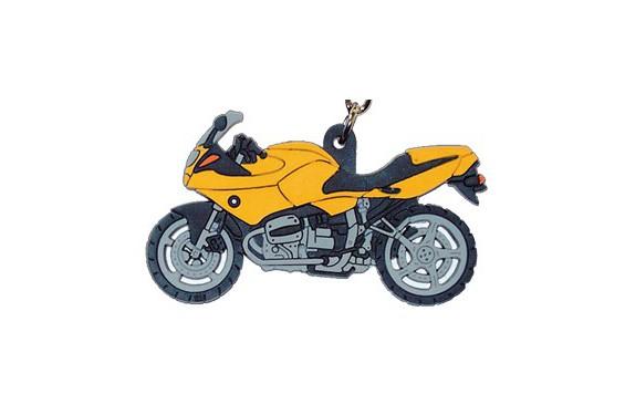 porte clefs 2d bmw r 1100 rs jaune street moto piece. Black Bedroom Furniture Sets. Home Design Ideas