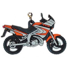 Porte-Clefs 2D YAMAHA TDR 125 Orange