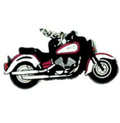 Porte-Clefs 2D YAMAHA ROYAL STAR Bordeaux