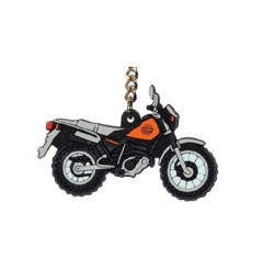 Porte-Clefs 2D YAMAHA TW 125 Orange