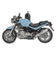 Porte-Clefs 2D BMW R1150 R 2002 Bleu