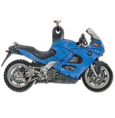 Porte-Clefs 2D BMW K1200RS 2002 Bleu