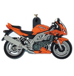 Porte-Clefs 2D SUZUKI SV 1000 S 2003 Orange