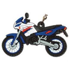 Porte-Clefs 2D DERBI 50 SENDA L Bleu / Blanc